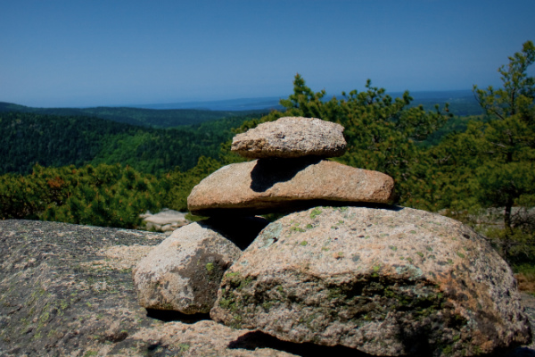Acadia National Park Cairn