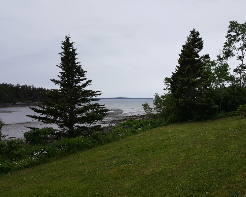 View at Acadia Seaside Cottages, Maine